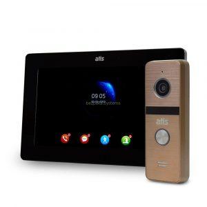komplekt-videodomofona-atis-ad-77fhd-black-at-4hd-gold-883928 — Bezpeka.Systems