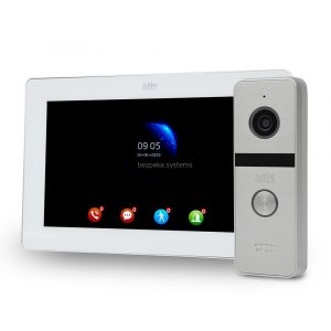 komplekt-videodomofona-atis-ad-77fhd-white-at-4fhd-silver-8833 — Bezpeka.Systems