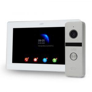 komplekt-videodomofona-atis-ad-77fhd-white-at-4hd-silver-883888 — Bezpeka.Systems