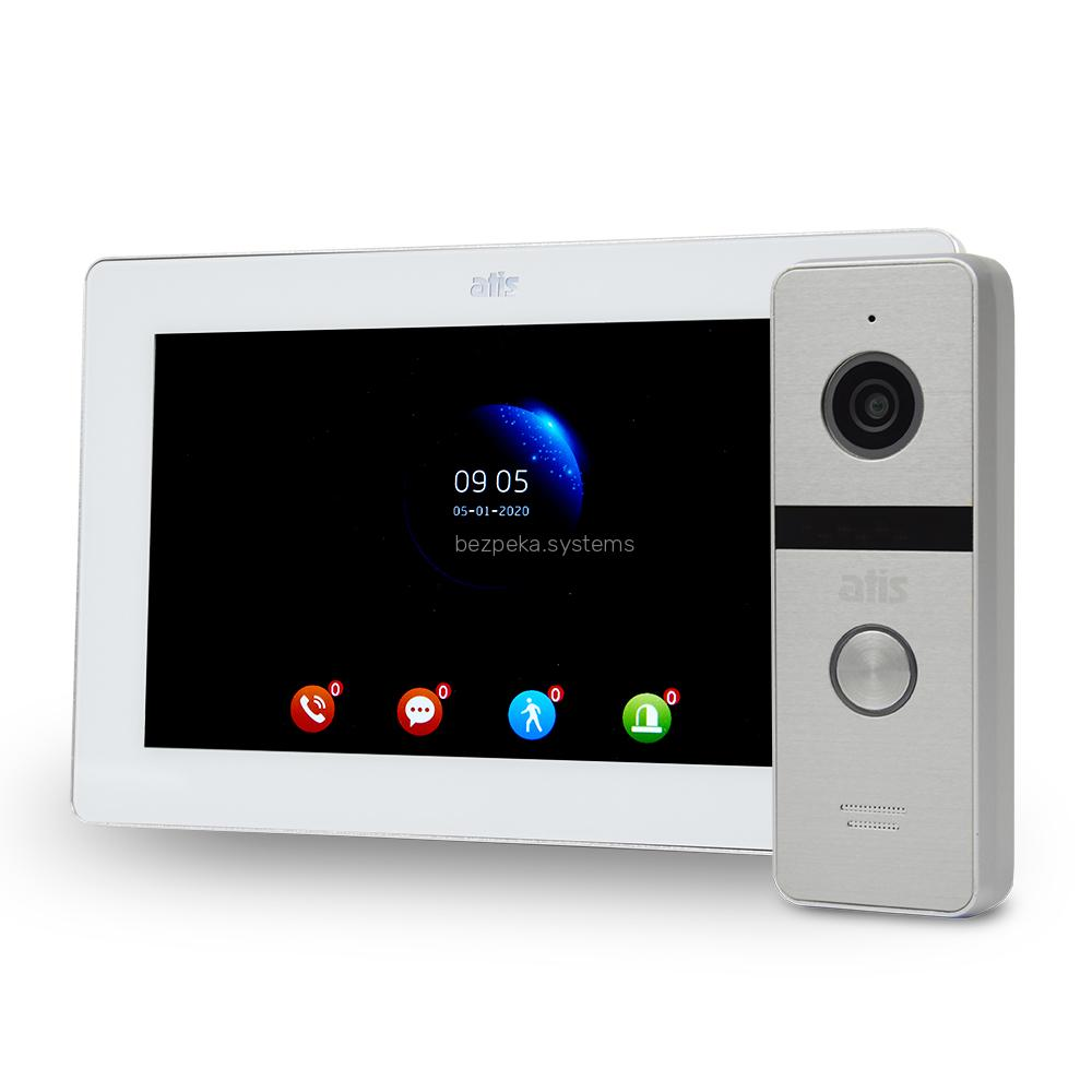 Комплект відеодомофона ATIS AD-770FHD White + AT-400HD Silver