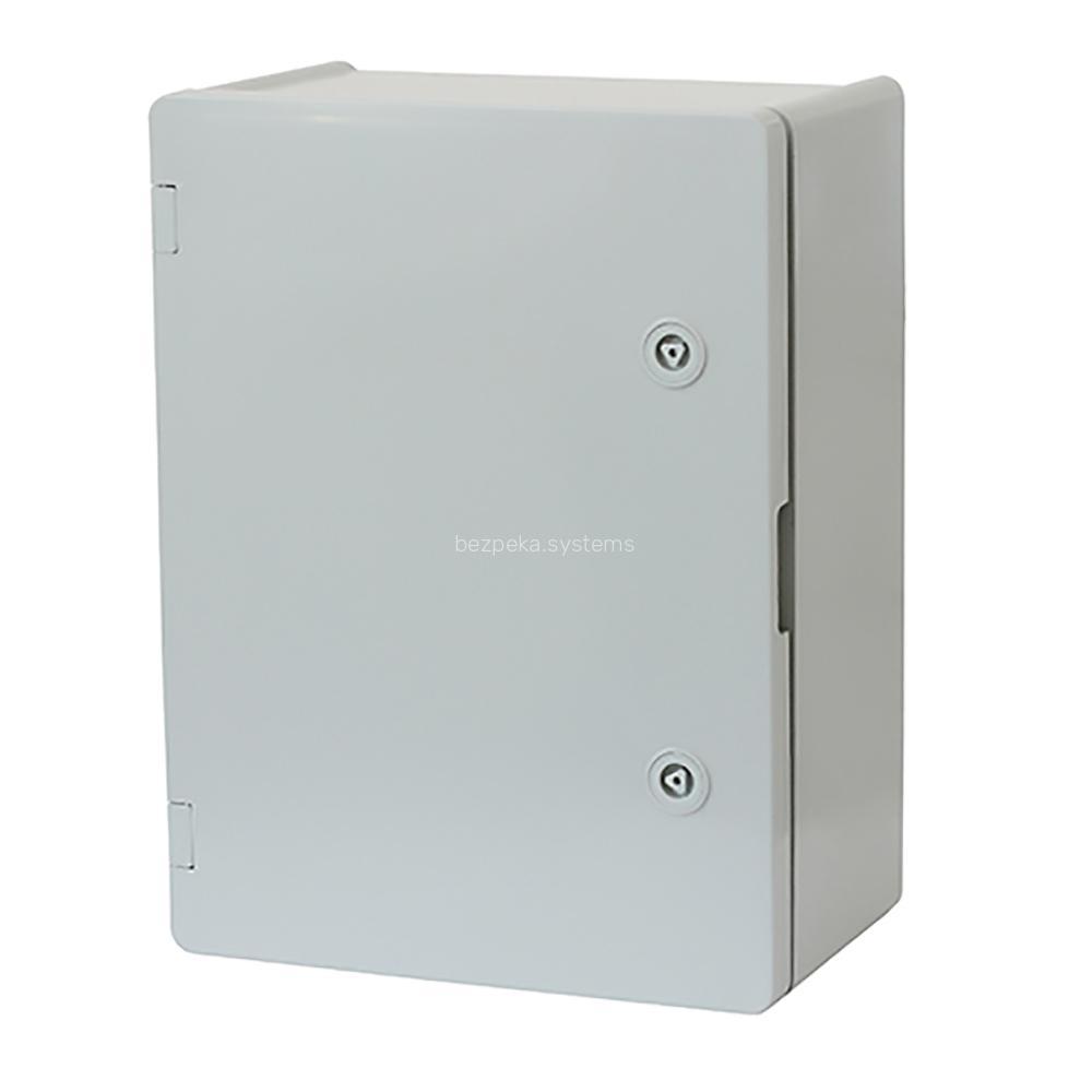 Щит ERKA 022 200 x 300 x 120 мм з монтажною панеллю і опаловими дверцятами