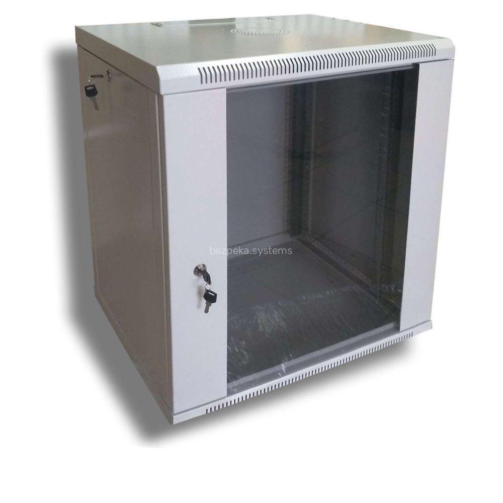 Шафа серверна Hypernet 12U 600 x 600 WMNC66-12U-FLAT для мережевого обладнання