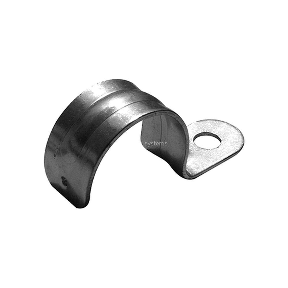 Скоба для металорукава E.NEXT 25.1 одностороння