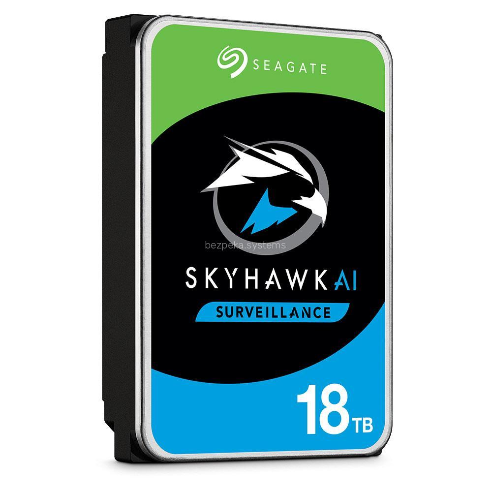 Жорсткий диск 18TB Seagate SkyHawk AI ST18000VE002 для відеоспостереження