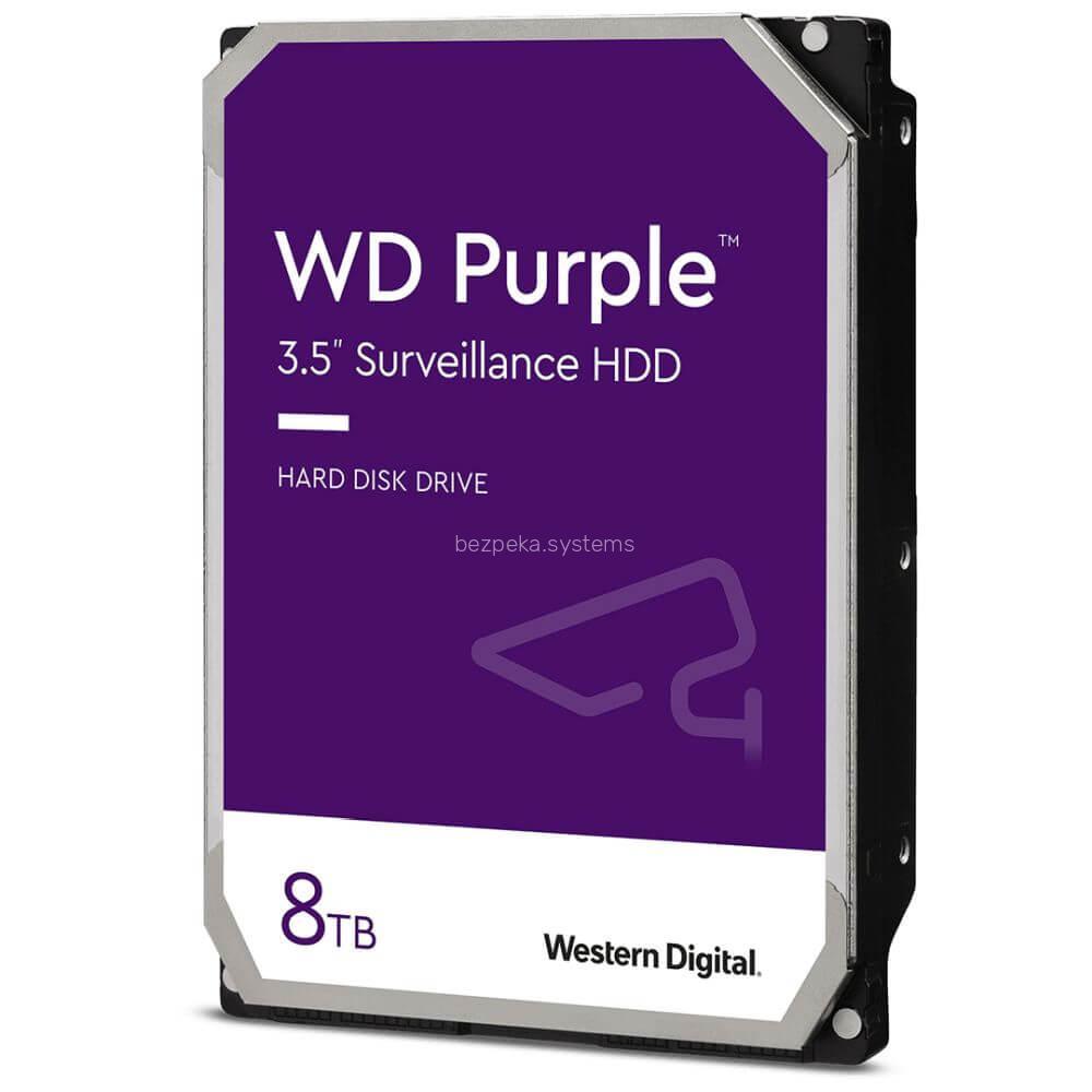Жорсткий диск 8TB Western Digital WD84PURZ для відеоспостереження